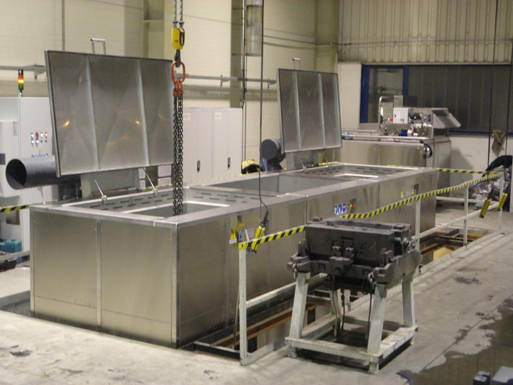 Matrijzen voor kunststof en gieterij (precisie industrie)