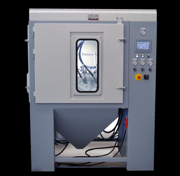 3D-print straalinstallatie straaltechiek Leering Hengelo