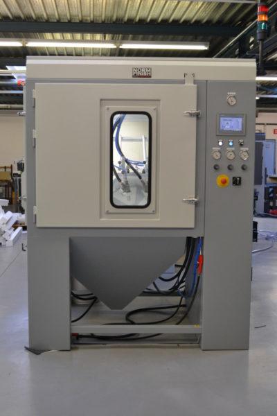 Normfinish 3D Tumble Blast XL machine