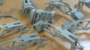 Nabewerken van 3D geprinte kunststof producten LeeringHengelo