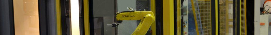 satellietstraler met robot