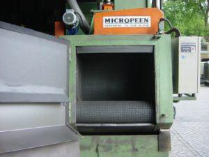 MICROPEEN Muldenband Werpstraler